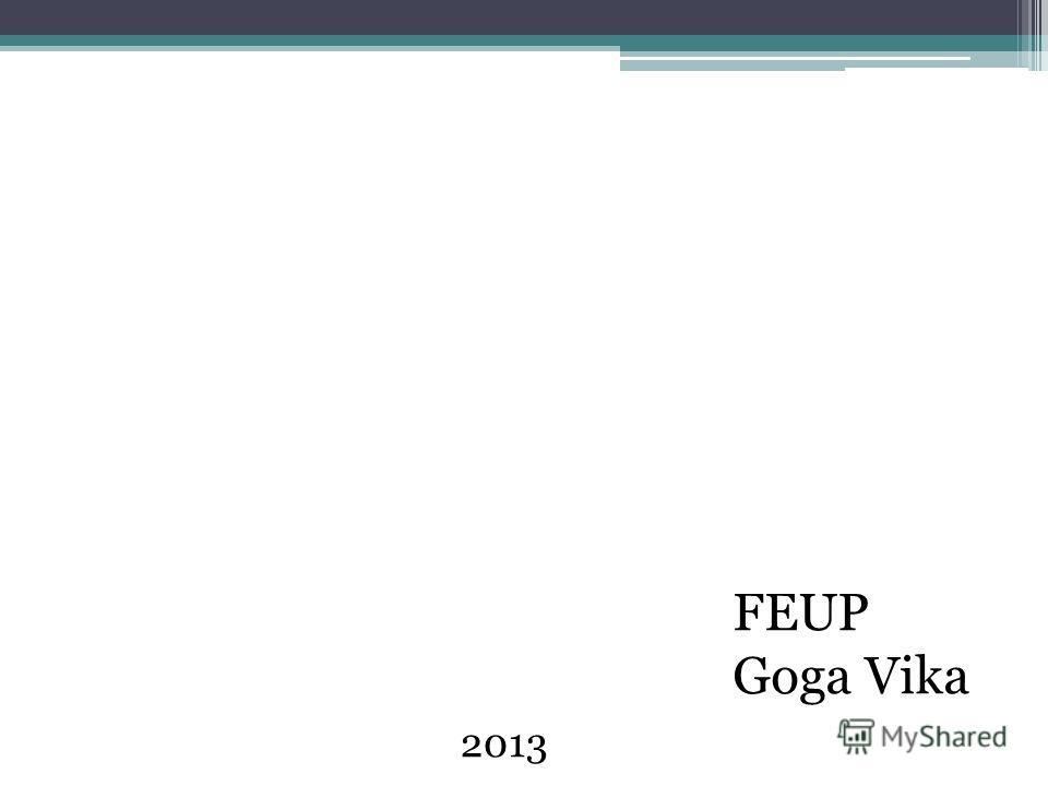FEUP Goga Vika 2013