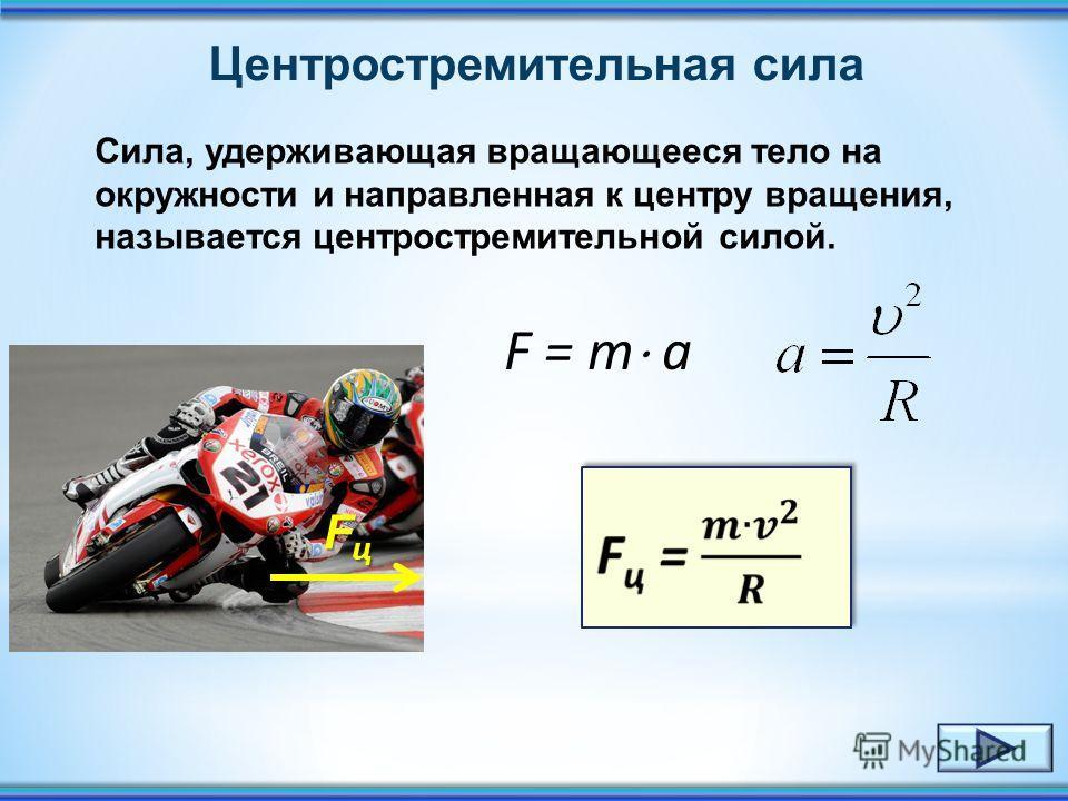 Направление вектора скорости Вектор скорости направлен по касательной к описываемой окружности. R