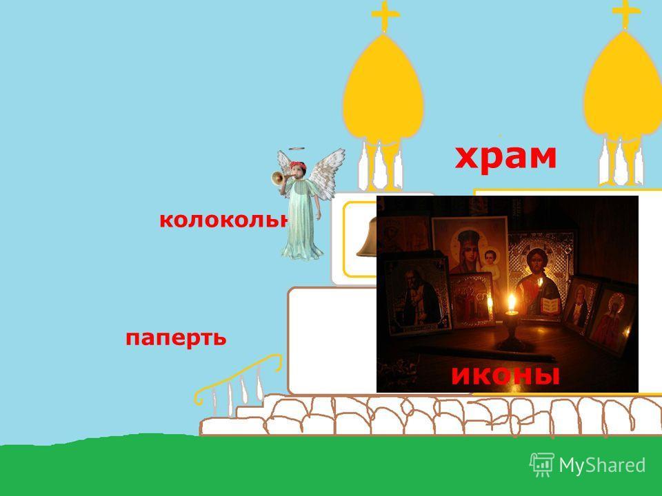 паперть колокольня храм иконы