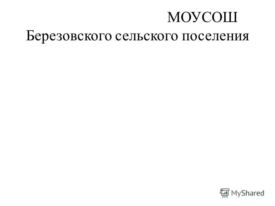 МОУСОШ Березовского сельского поселения