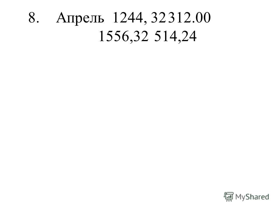 8.Апрель1244, 32312.00 1556,32514,24