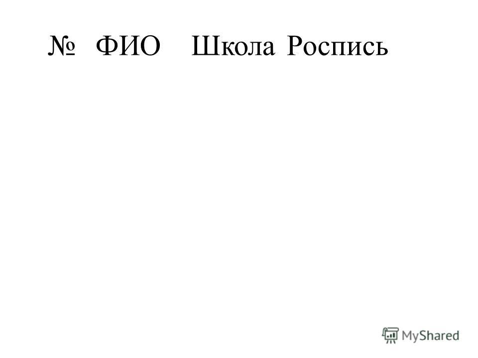 ФИОШколаРоспись