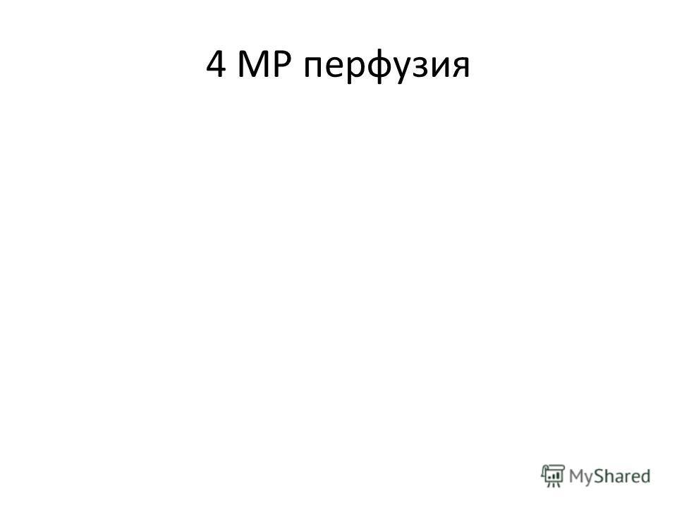 4 МР перфузия