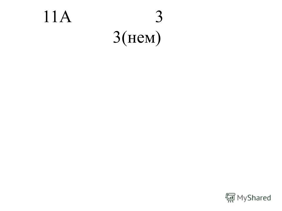 11А3 3(нем)