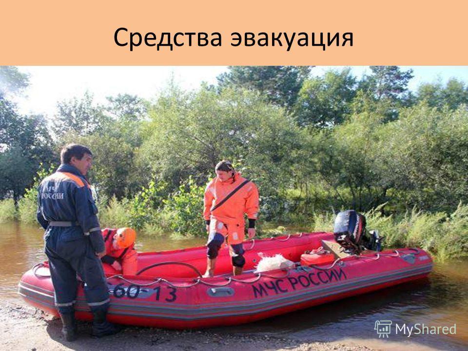 Средства эвакуация