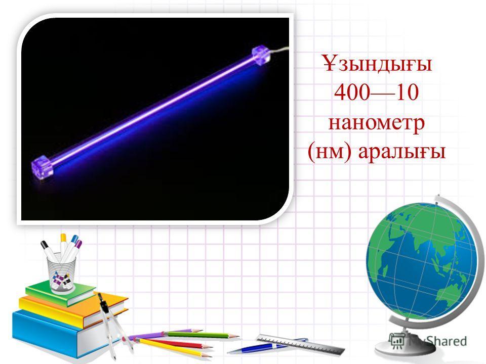 Ультракүлгін сәуле шығару жарық сәулелері спектрінің күлгін бөлігіне іргелес орналасқан, толқын ұзындығы 40010 нанометр (нм) аралығына сәйкес келетін электрмагниттік сәулелер.