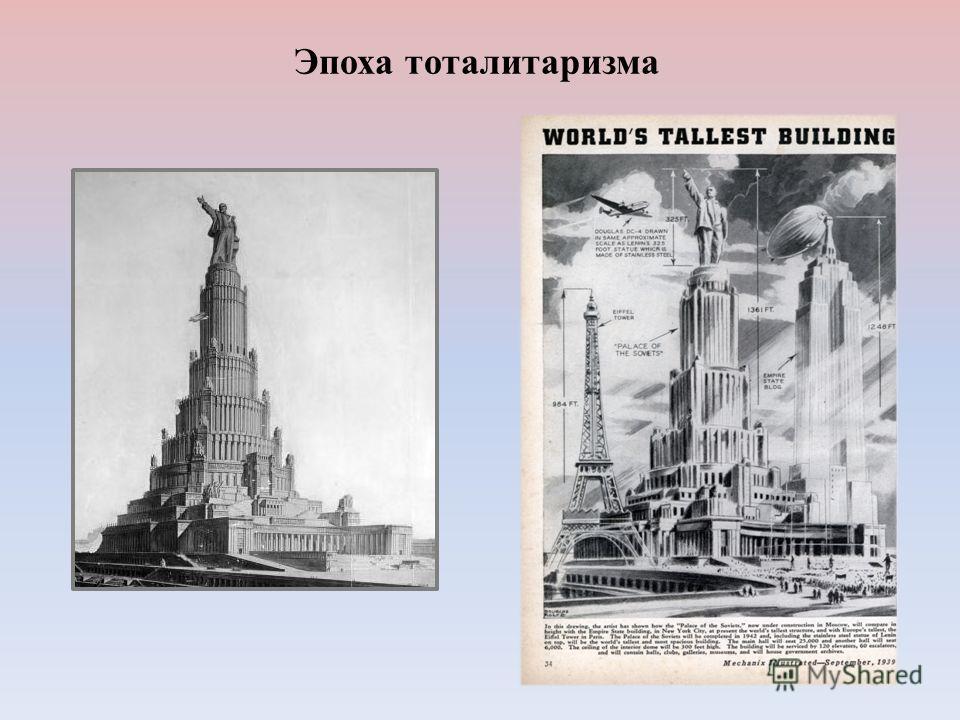 Эпоха тоталитаризма