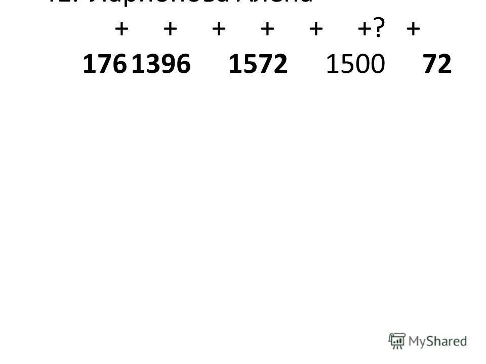 41.Ларионова Алёна+++ ++++++?+ 17613961572150072