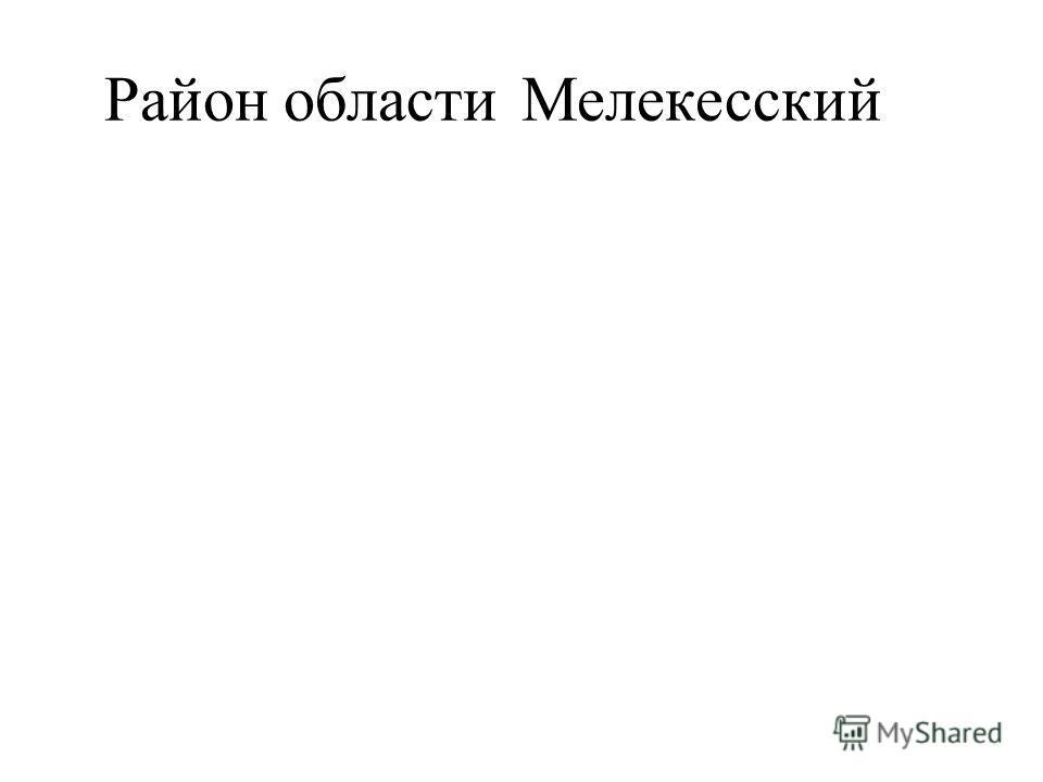 Район областиМелекесский