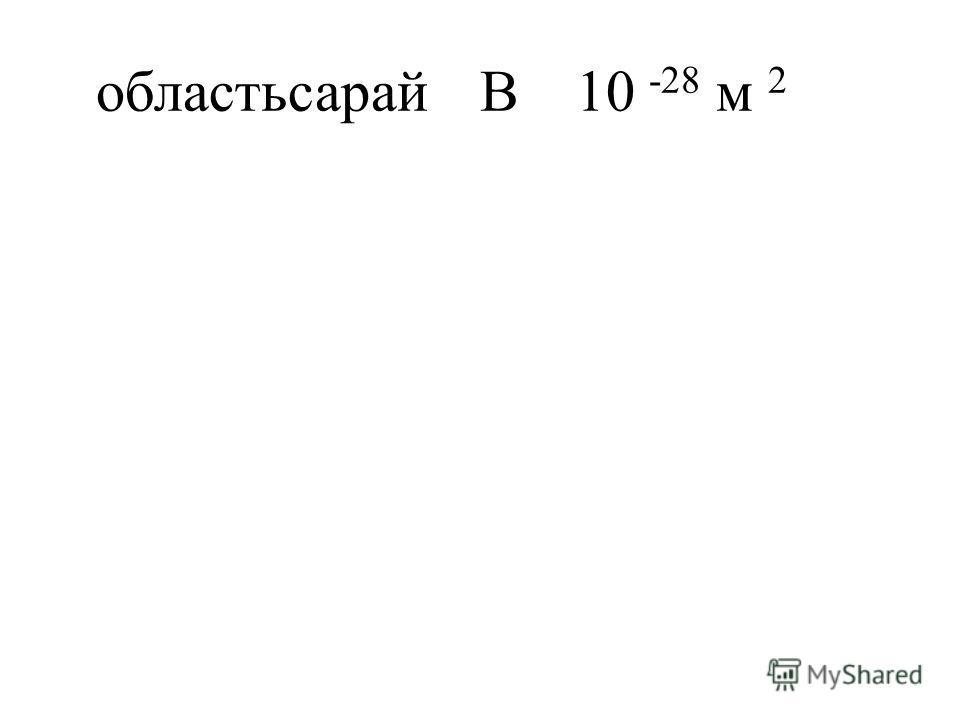 областьсарайB10 -28 м 2