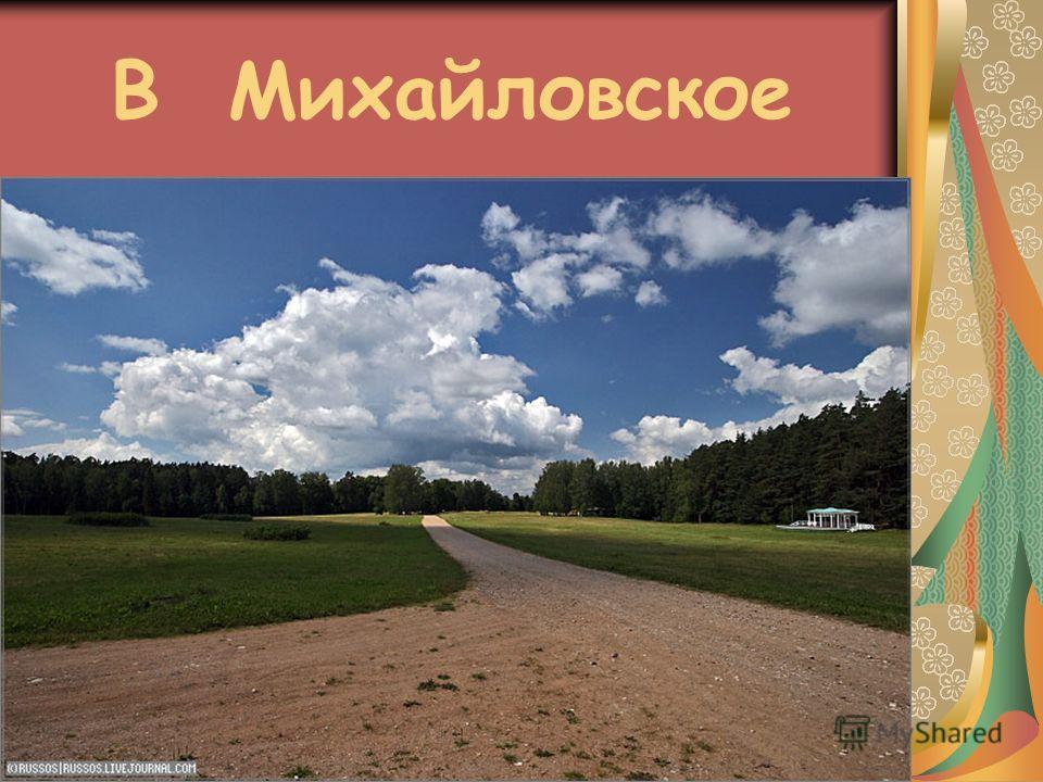 В Михайловское