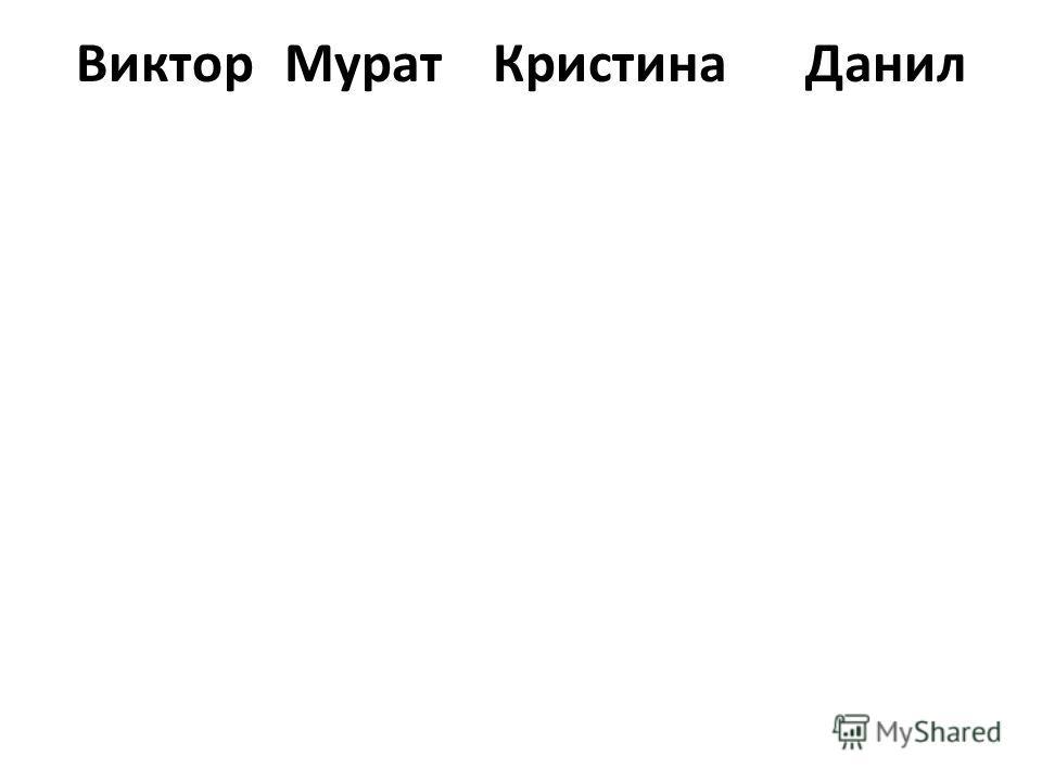 ВикторМуратКристинаДанил