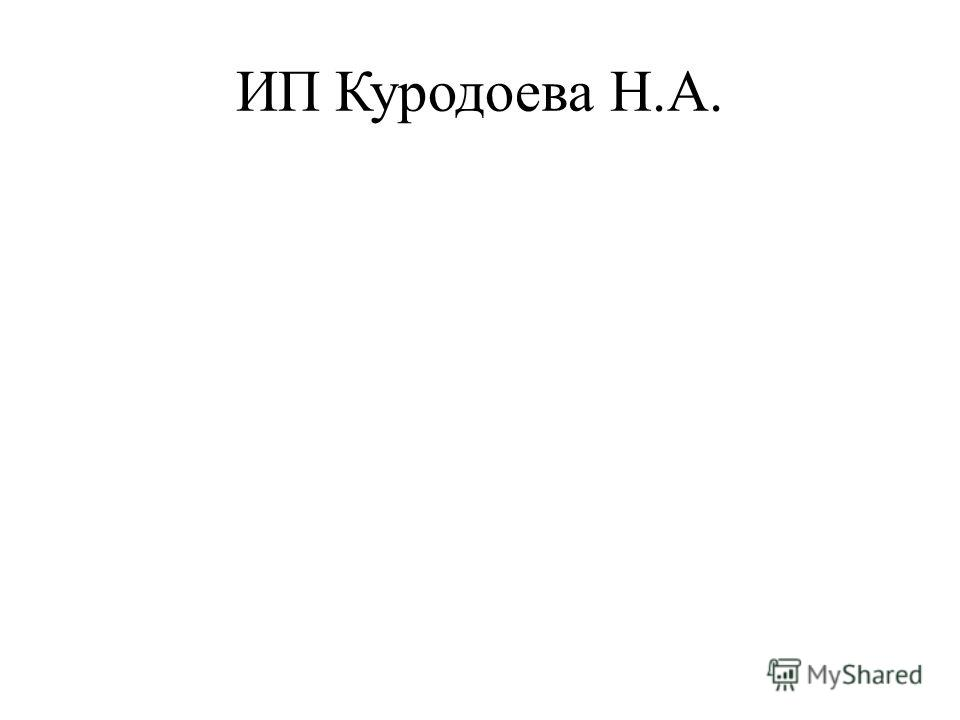 ИП Куродоева Н.А.