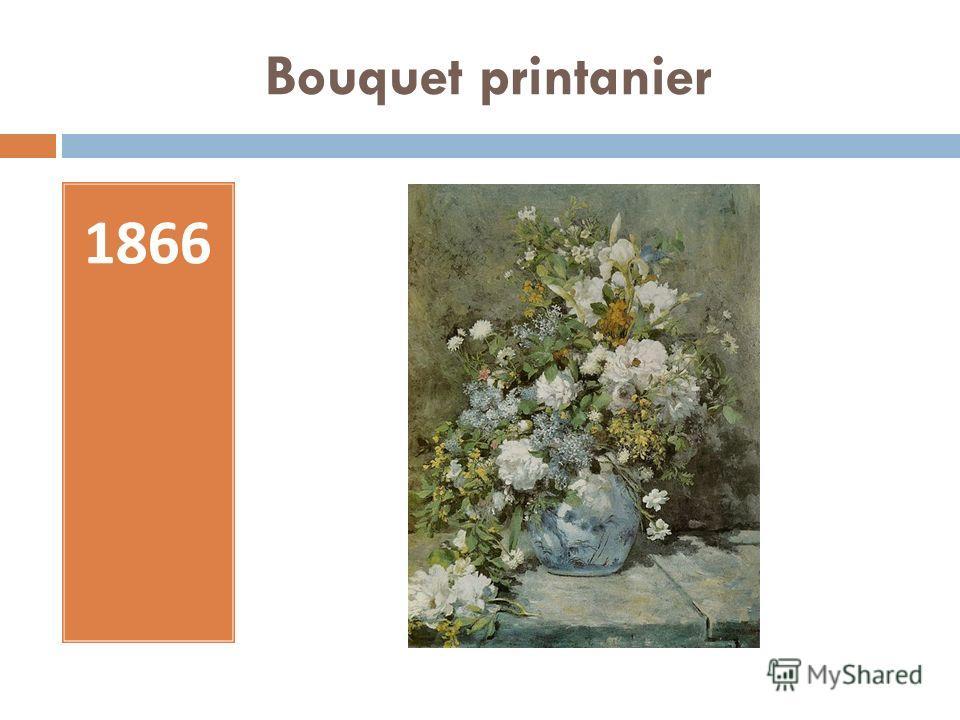 Bouquet printanier 1866
