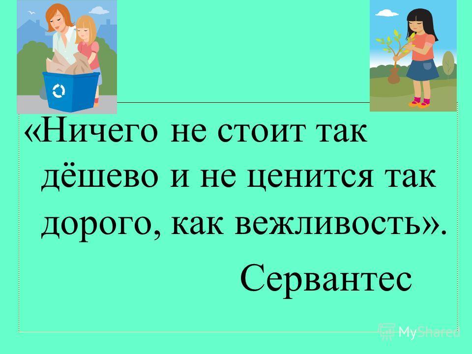 –Будьте всегда вежливы! Учитель: Бегашева И. Ю. 2013 год