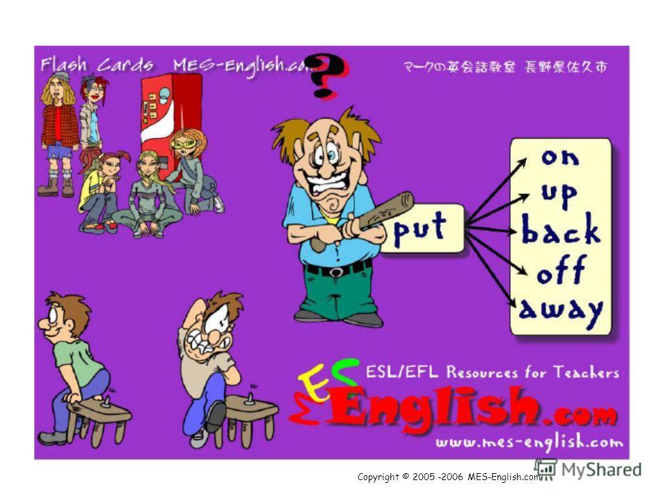 Copyright © 2005 -2006 MES-English.com