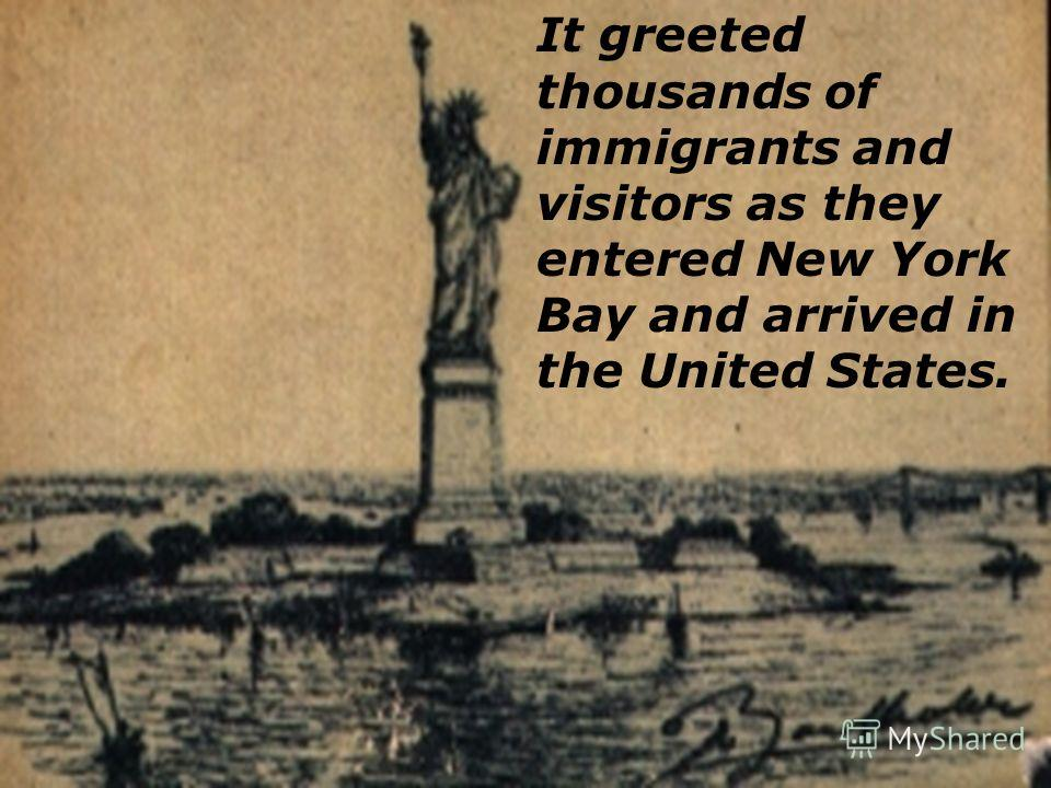 Located in the New York Harbor on Ellis Island.