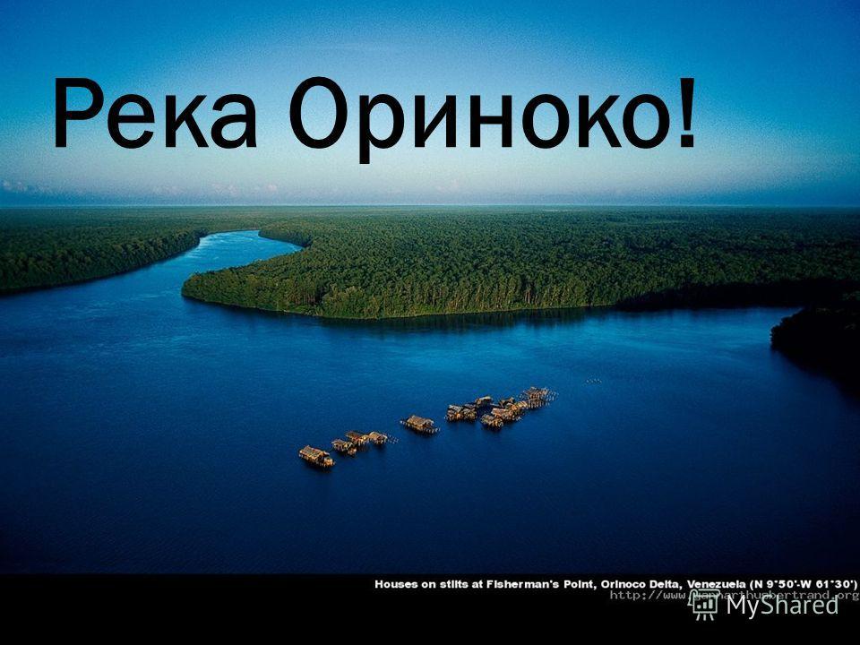 Река Ориноко!