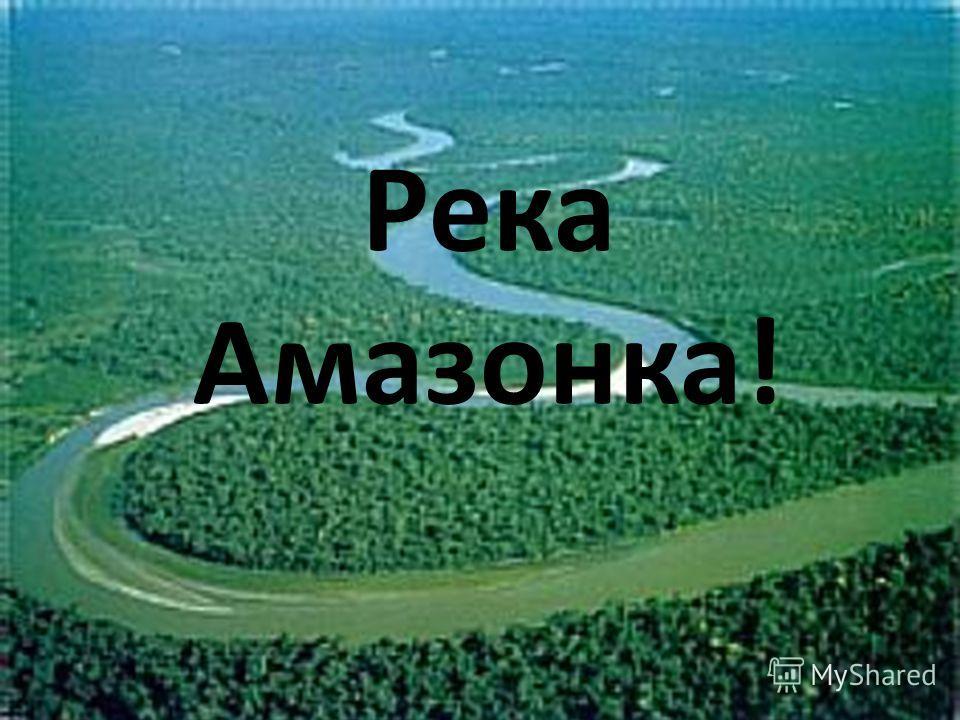 Река Амазонка!