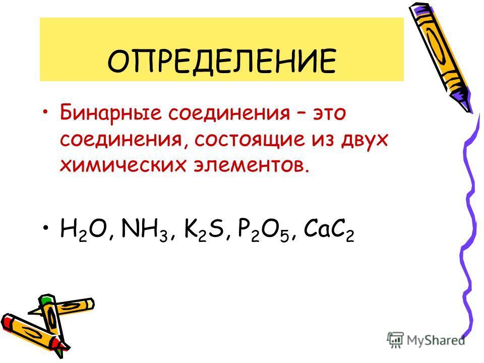 22.10.2013Кузнецова О.А. МОУ СОШ 7 г. Обнинск Бинарные соединения 8 класс
