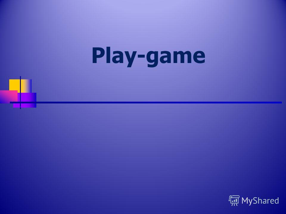 Play-game