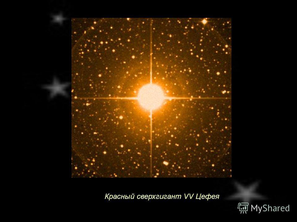 Красный сверхгигант VV Цефея