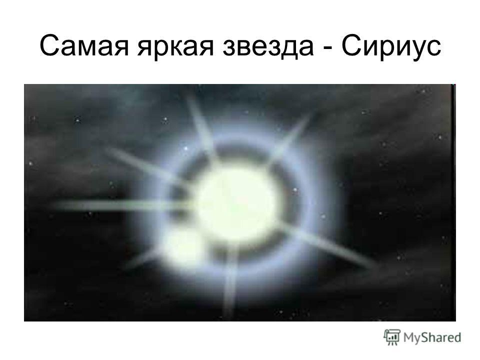 Самая яркая звезда - Сириус