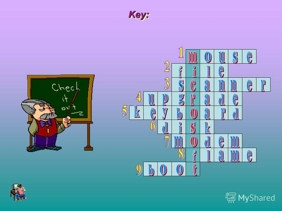 Key:Key: