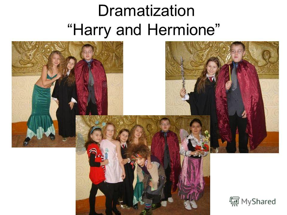 Dramatization Harry and Hermione