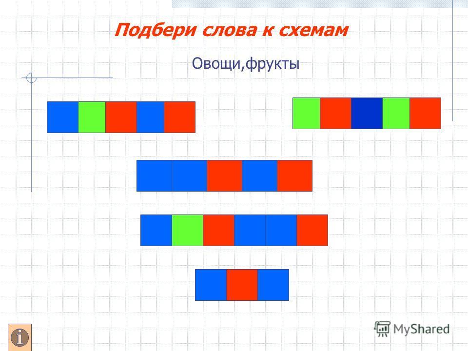 Схема цветная слова юла
