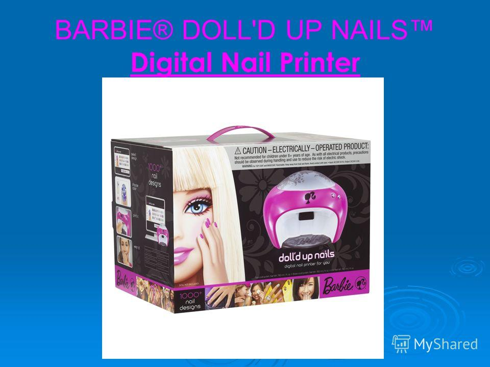 BARBIE® DOLL'D UP NAILS Digital Nail Printer