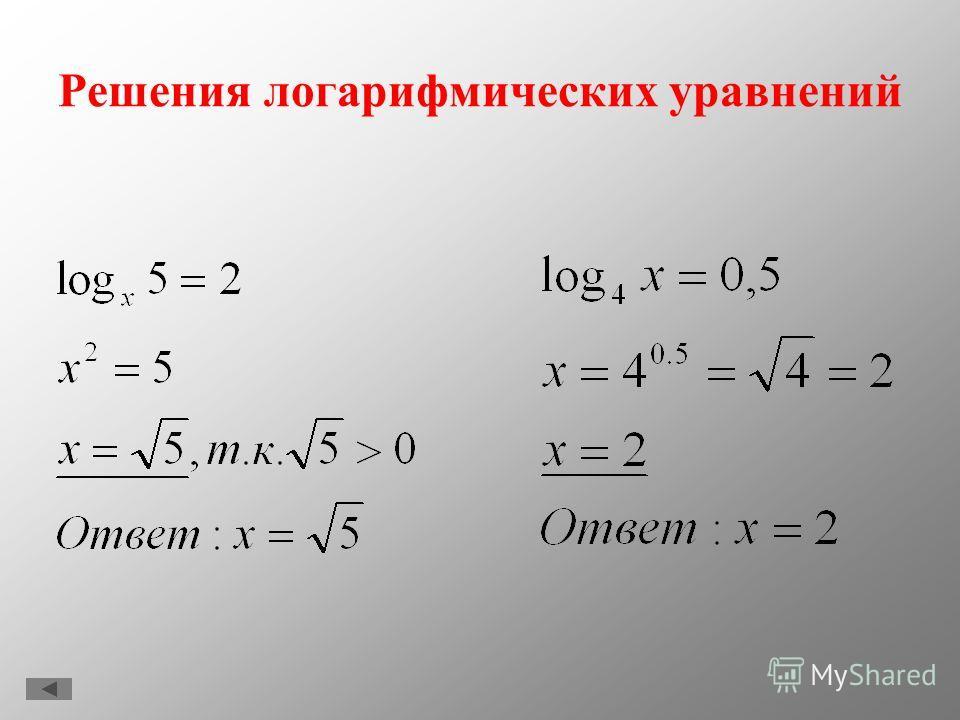 Свойства натуральных логарифмов Чтобы по известному десятичному логарифму числа х найти его натуральный логарифм, нужно разделить десятичный логарифм числа х на десятичный логарифм числа е: Чтобы по известному натуральному логарифму числа х найти его
