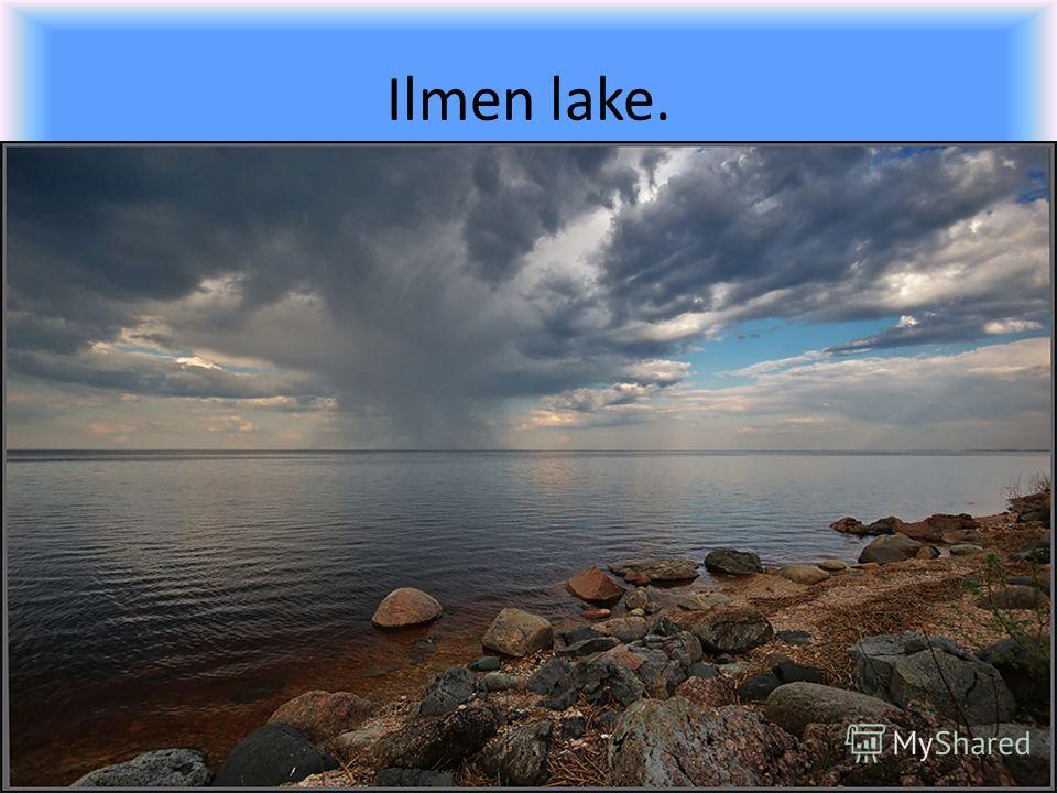 Ilmen lake.