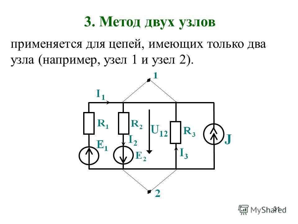 30 I 33 I 11 I 22 Решаем систему, находим контурные токи, затем находим реальные токи ветвей: