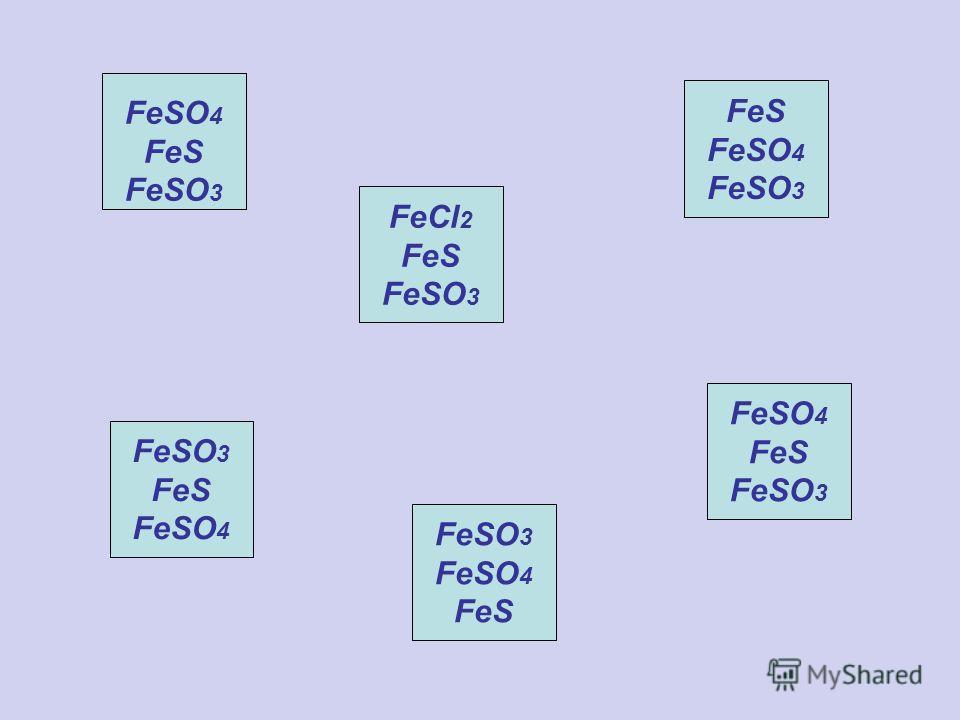 FeCl 2 FeS FeSO 3 FeS FeSO 4 FeSO 3 FeS FeSO 4 FeSO 3 FeSO 4 FeS FeSO 4 FeS FeSO 3 FeSO 4 FeS FeSO 3