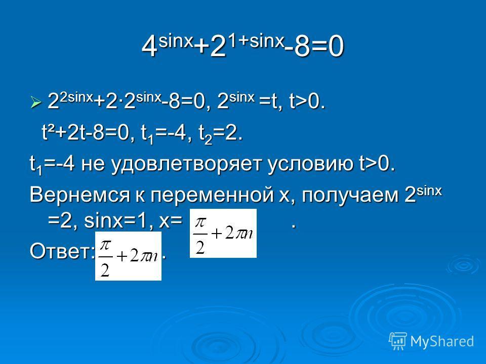 Применим метод интервалов. 4х-7=0 при х=1¾. Применим метод интервалов. 4х-7=0 при х=1¾. 16 х -32=0, 2 4х =2 5, 4х=5, х=1¼. 16 х -32=0, 2 4х =2 5, 4х=5, х=1¼. Ответ: (-;1¼)υ(1¾,+). Ответ: (-;1¼)υ(1¾,+). х 1¼1¼ 1¾ + - +