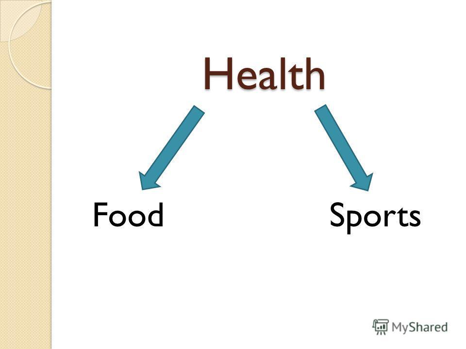 Health Food Sports