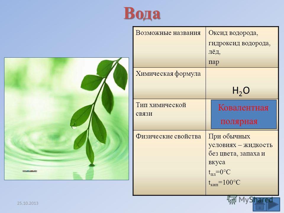 Многообразие бинарных соединений в природе 25.10.2013