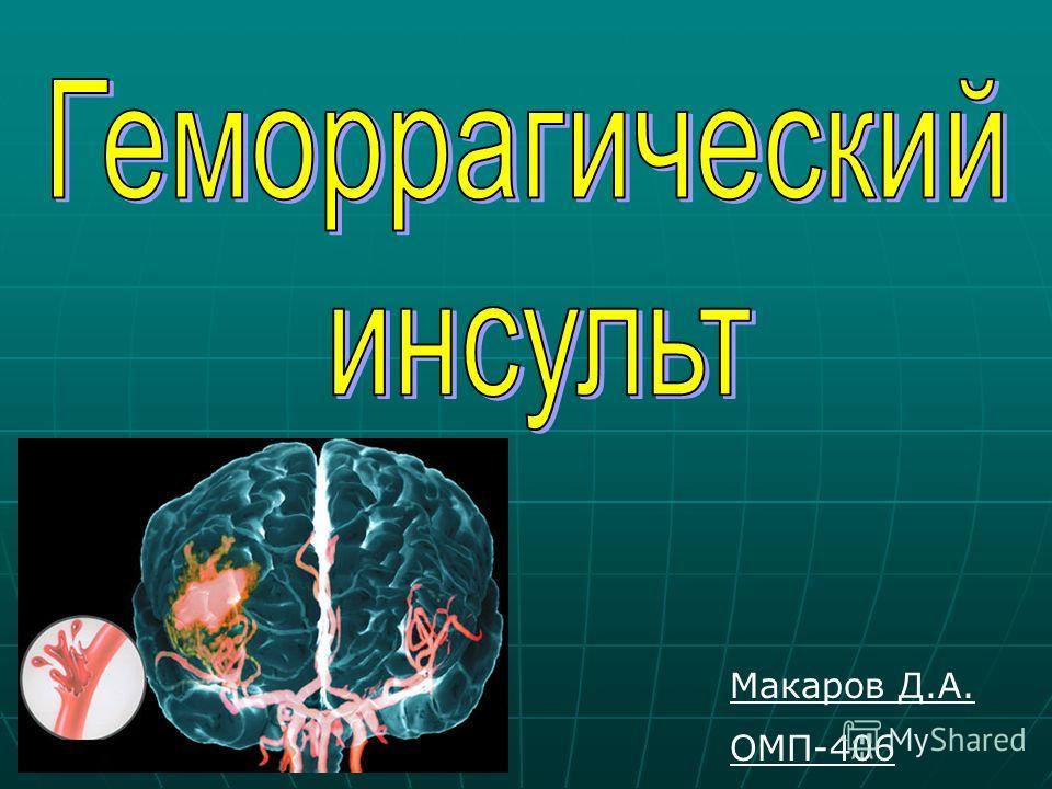 Макаров Д.А. ОМП-406