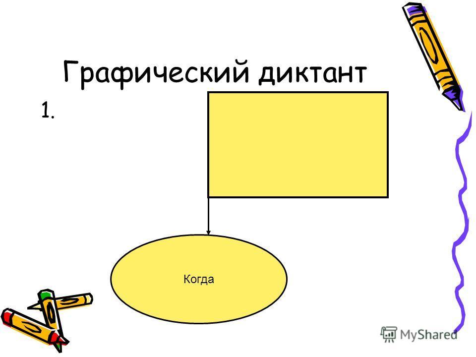 Графический диктант 1. Когда