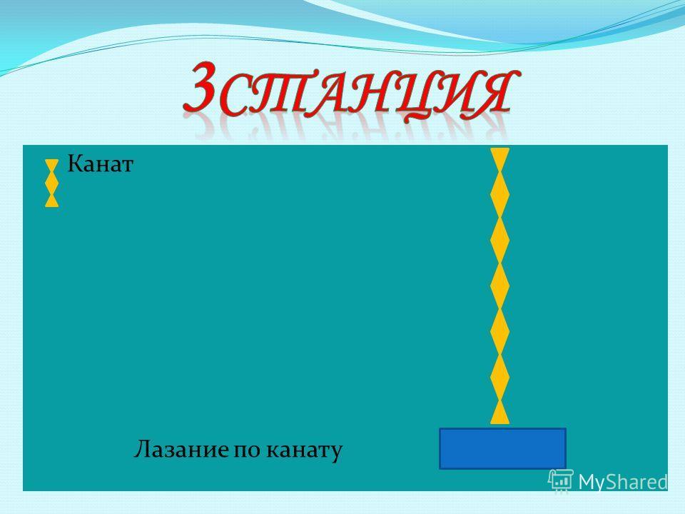 Канат Лазание по канату