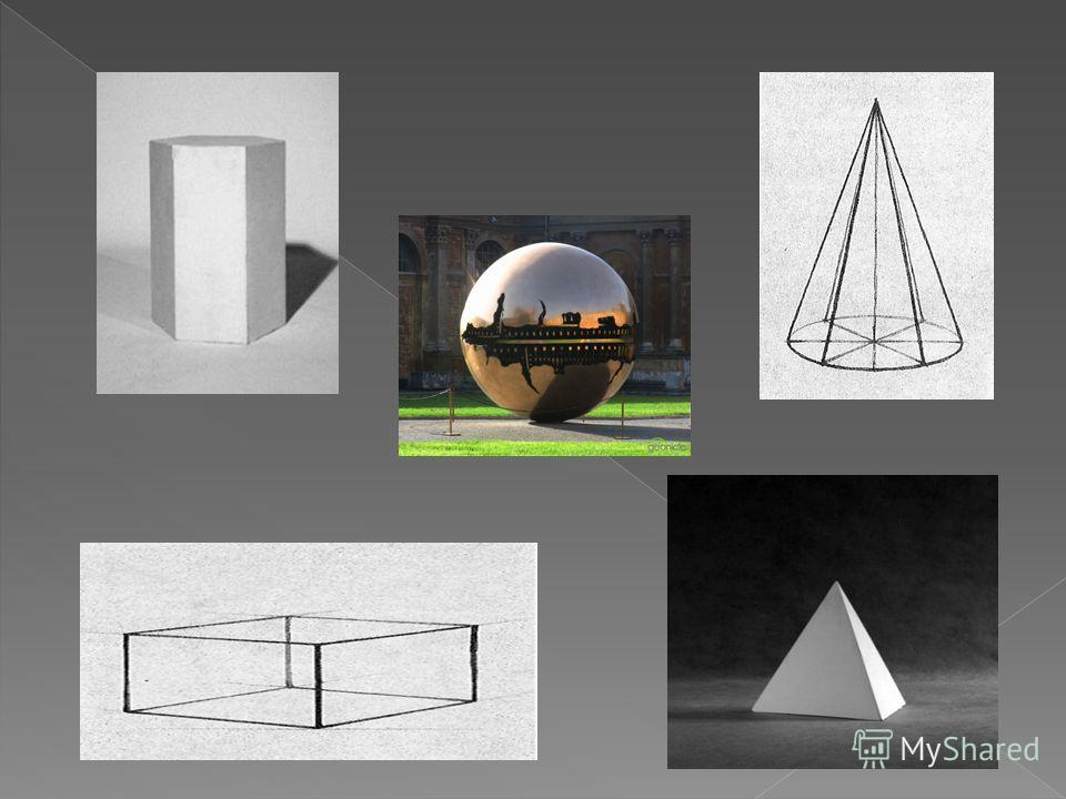 Геометрические тела МногогранникиТела вращения Призмы Пирамиды Цилиндр Конус Сфера
