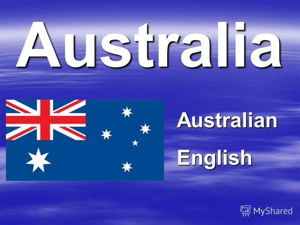 Australia AustralianEnglish