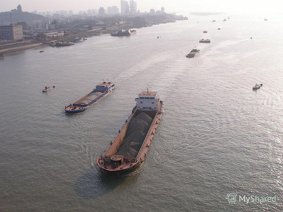Реки Китая - Янцзы