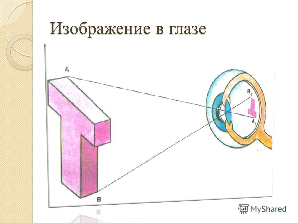 Изображение в глазе