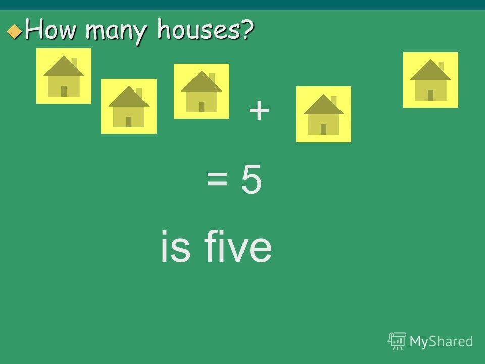 How many? Сколько ? Сколько ? Plus – «+» Plus – «+» Minus – «-» Minus – «-» Is – «=» Is – «=»