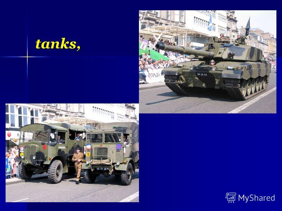 tanks,