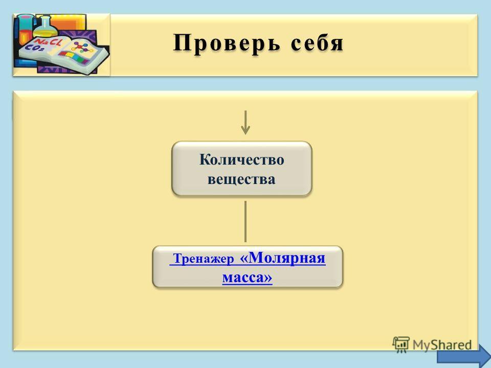 Молярная масса численно равна относительной молекулярной массе вещества Молярная масса – физическая величина, которая Показывает массу 1 моль вещества Показывает массу 1 моль вещества Обозначается М Обозначается М Измеряется в г/моль, кг/кмоль, мг/мм