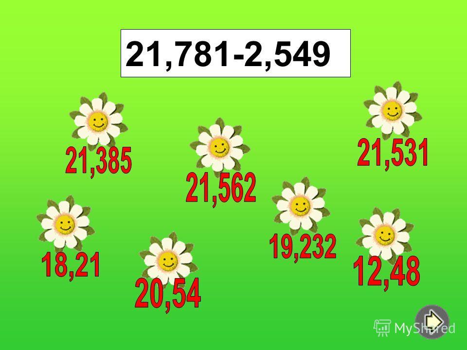 21,781-2,549