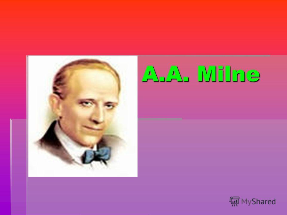 A.A. Milne A.A. Milne